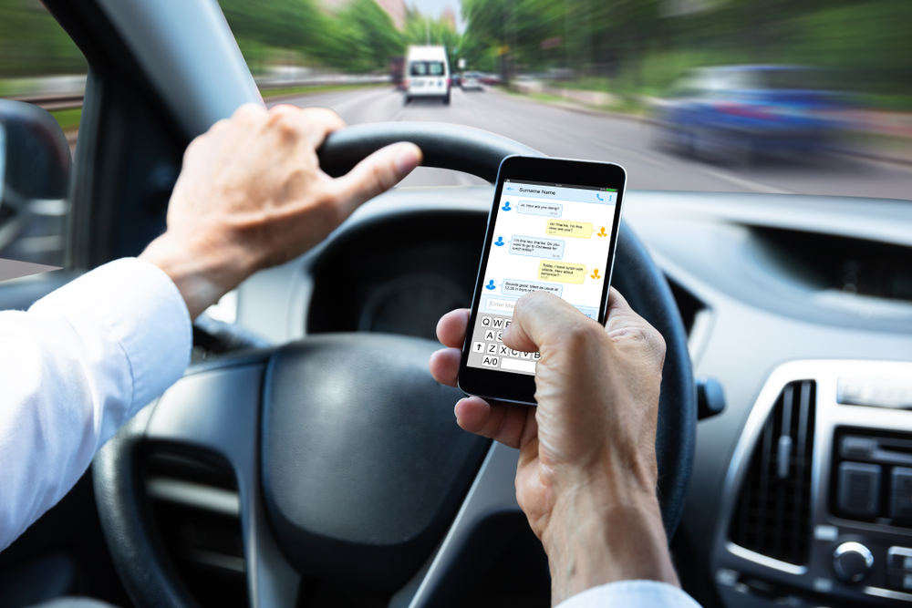 texting and driving car accident lawyer san marino el monte